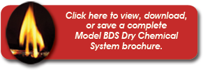 Click here to view, download, or save a complete Model BDS Dry Chemical System brochure.